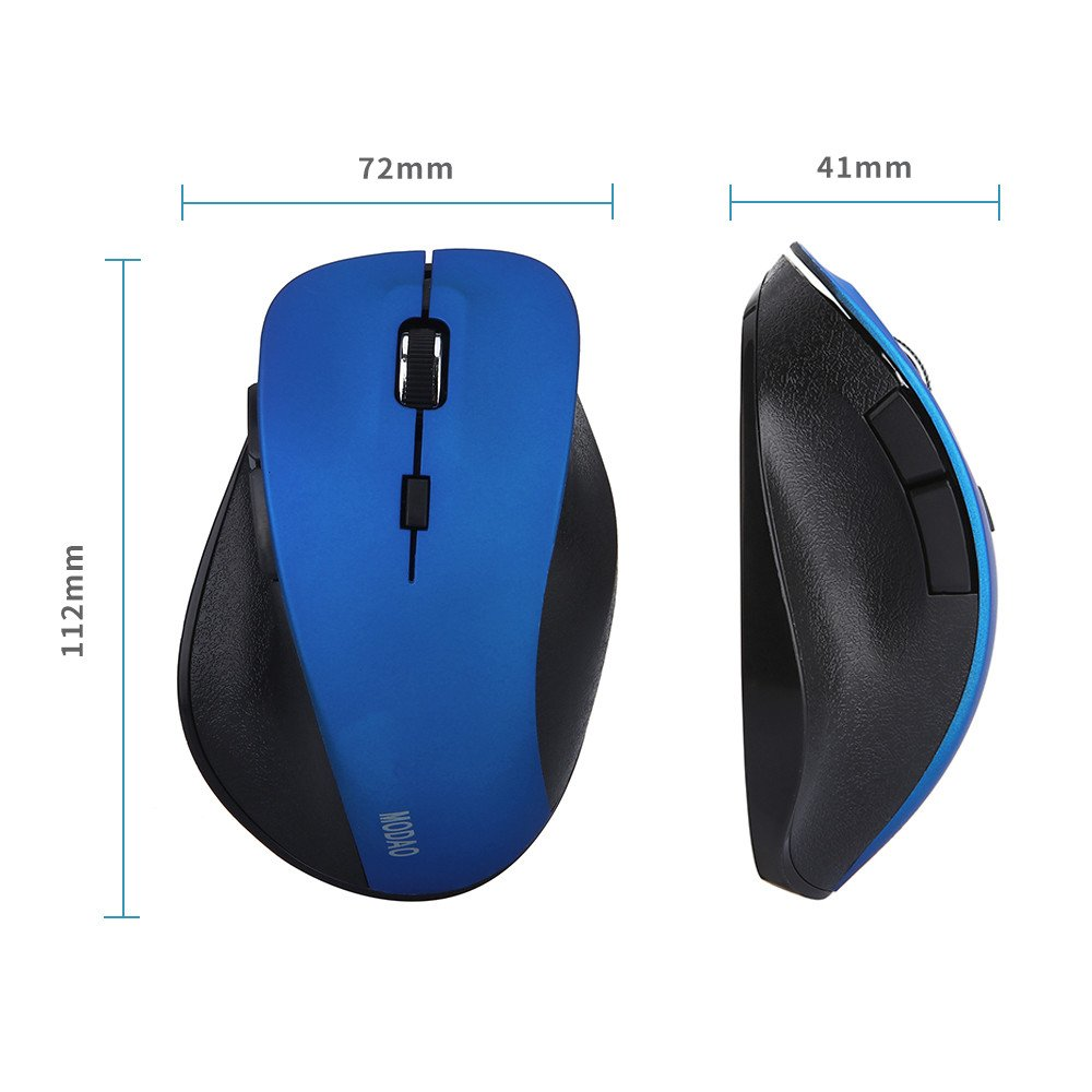 f491b8ba8de Amazon.com: Theshy Mouse MODAO Rechargeable Bluetooth4.0 and 2.4G Dual Mode  Wireless Gaming Mouse/Six Button Design Mice: MP3 Players & Accessories