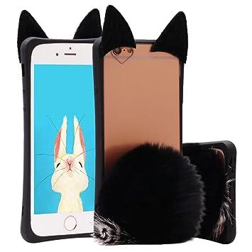 Funda iPhone 6s plus,ZXK CO Funda del Silicona TPU para ...