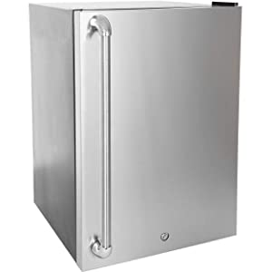 Blaze Stainless Front Door Upgrade 4.5 for Right Hinge (BLZ-SSRF130-BLZ-SSFP-4-5)