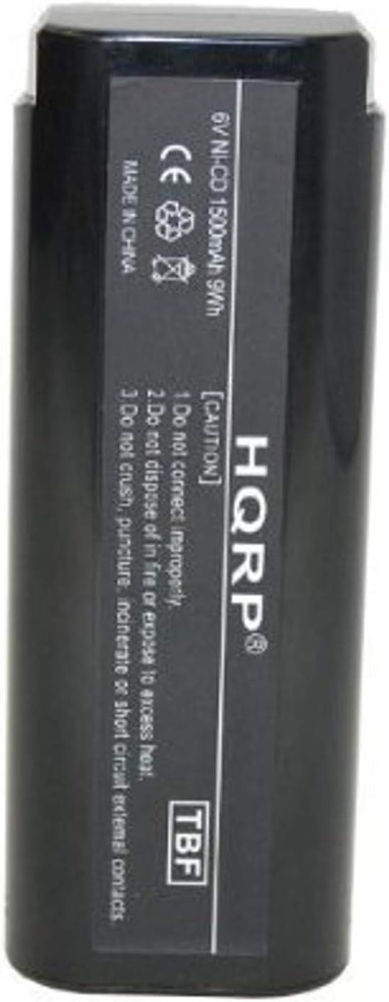 IM250 IM350 clavadoras inal/ámbricas 404400//900400 HQRP 6V 1500mAh Bater/ía para Paslode 404717 900600//901000 900420//900421 902000//902200 Clavadora de aire comprimido