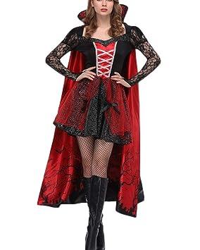 Mujer Disfraz De Reina Princesa Medieval Vestido Gótico Cosplay ...