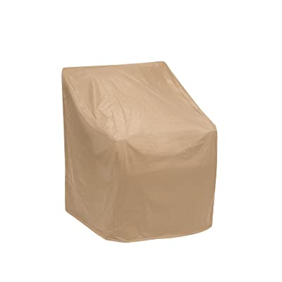 Protective Covers Weatherproof Chair Cover, 35 Inch x 29 Inch, Tan - 1162-TN : Patio Chair Covers : Garden & Outdoor