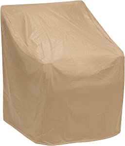 "Protective Covers Weatherproof Wicker Chair Cover, Regular, Tan , 35"" W x 35"" D x 35"" H - 1123-TN"