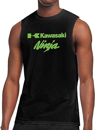 TIANXIN Vector Ninja Kawasaki Camiseta sin Mangas de algodón ...