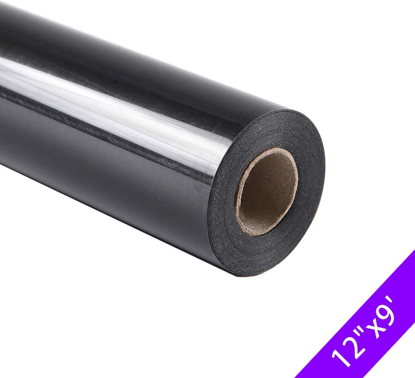 Rollo de vinilo adhesivo de PVC para transferencia de calor, 12 pulgadas x 9 pies: Amazon.es: Juguetes y juegos