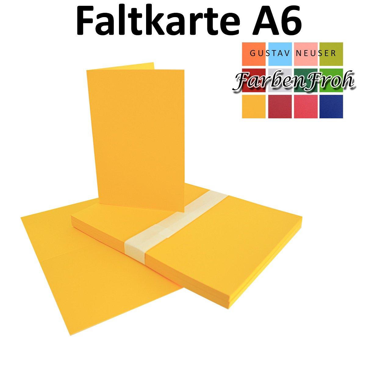 250x Falt-Karten DIN A6 A6 A6 Blanko Doppel-Karten in Hochweiß Kristallweiß -10,5 x 14,8 cm   Premium Qualität   FarbenFroh® B078TGZYPQ Kartenkartons Sonderpreis 3e1d16