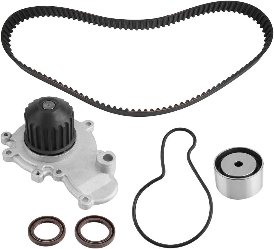 KSTE Timing Belt Kit de Bomba de Agua Compatible with Chrysler Cirrus Dodge Neon 2.0L SOHC 16V 1995-2005
