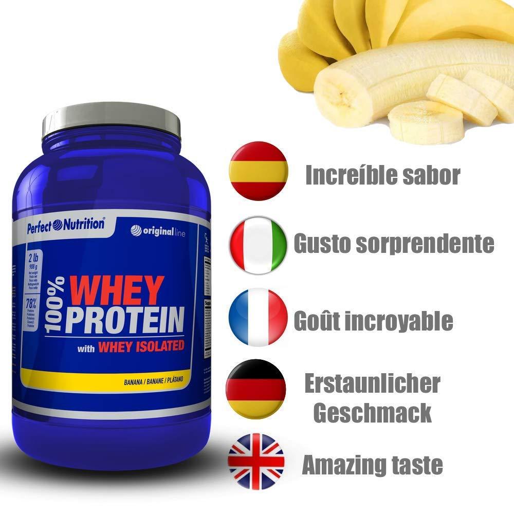 Calidad Perfect Nutrition (Platano, 908gr): Amazon.es: Salud y cuidado personal