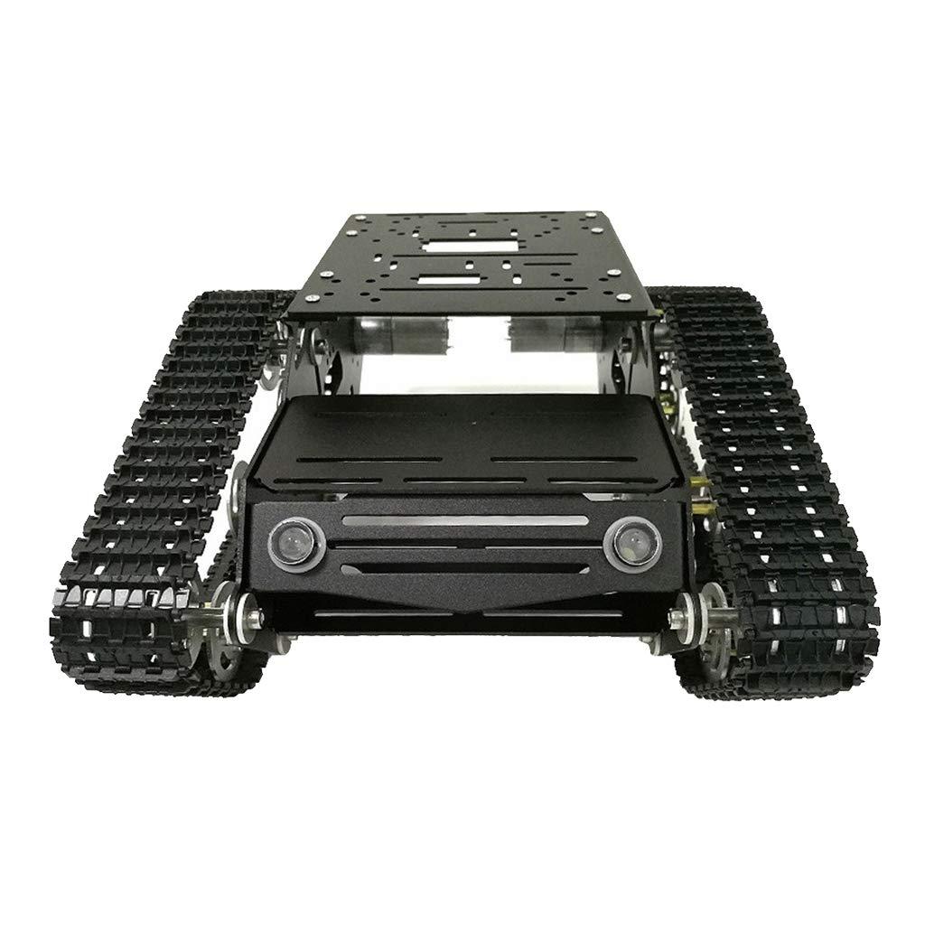 compras en linea Homyl Kit De Robusteza Inteligente del Chasis Caterpillar con Tanque Tanque Tanque De Metal Y Motor De Alta Potencia  de moda