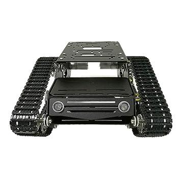 perfk Robot De Absorción Kit De Chasis del Carro del Tanque ...