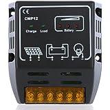 yueton Solar Controller 10a 12v/24v Solar Charge Controller Solar Panel Battery Regulator Safe Protection