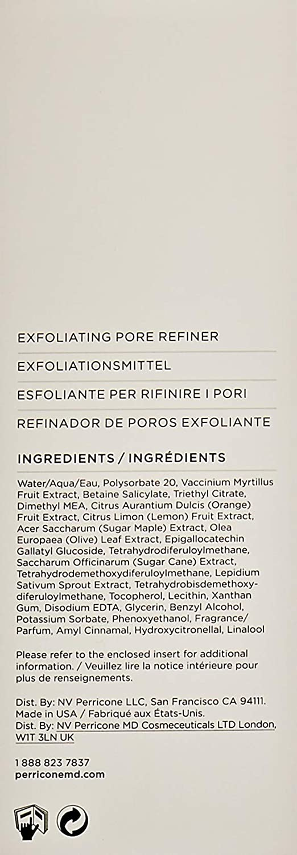 Perricone MD PRE: EMPT série Pore Exfoliant 118ml,