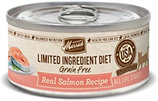 product image for Merrick Pet Care Limited Ingredient Diet Real Salmon Recipe Cat, 1 Count, One Size