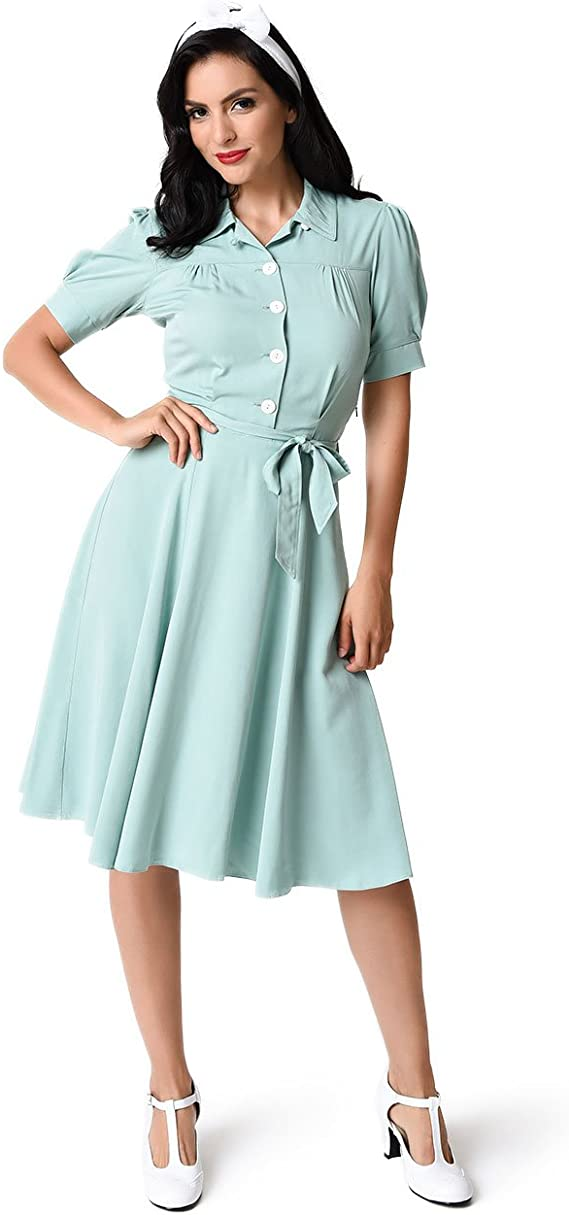 Vintage Women\u2019s Size M Dark Turquoise Blouse Short Sleeve Evening Blouse