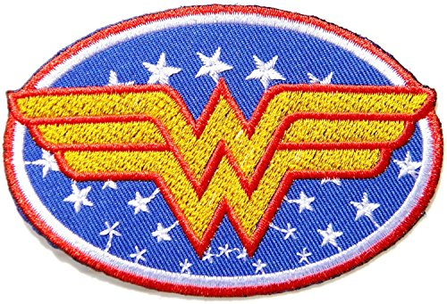 Wonder Women Superhero Comics Cartoon Logo Kid Baby Girl Jacket T shirt Patch Sew Iron on Embroidered Symbol Badge Cloth Sign ()