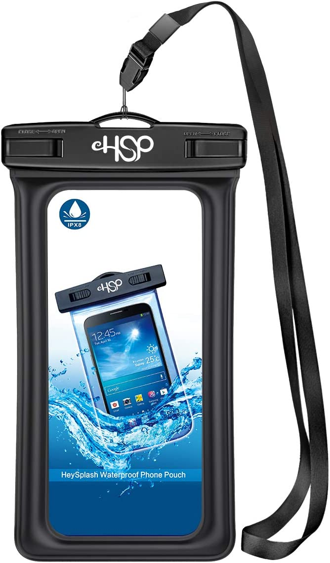 Galaxy S8//S7//S6 Underwater Cellphone Pouch Dry Bag with Armband Neck Strap Compatible with New iPhone SE 2020 iPhone 11//11 Pro//11 Pro Max//8//7//7 plus//6s Plus HeySplash Floating Waterproof Phone Case