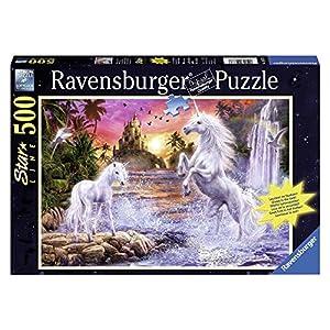 Ravensburger 14873 Unicorni Al Fiume 500 Pezzi