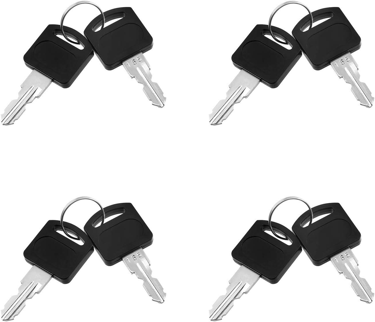 Kohree 5 pcs Cerradura para Buz/ón 16mm Cerradura Cilindro Con 10 Llaves Cerradura para Muebles Cerradura para Taquilla Cerradura para Caj/ón cilindro Cam cerraduras de cilindro de armario