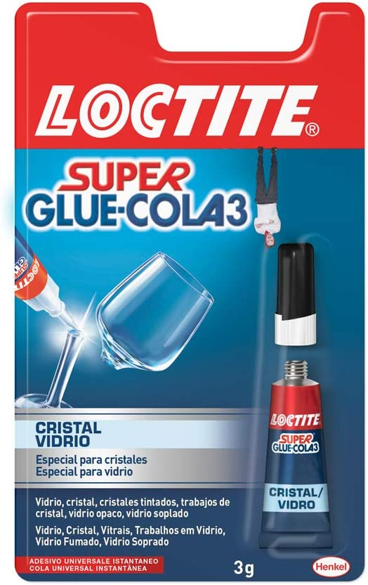 Loctite Super Glue-3 - Glass Adhesive Glue (3 g)