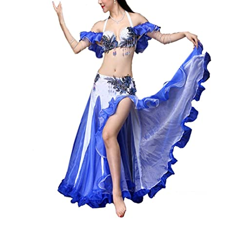Bangxiu-Belly Dance Disfraz de Danza del Vientre Traje de ...