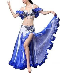 Bangxiu-Belly Dance Disfraz de Danza del Vientre Traje de Danza ...