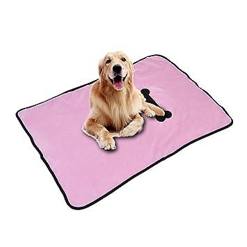 Awhao - Manta suave para perro, gato, cama cálida, cojín para mascotas con estampado de huesos: Amazon.es: Productos para mascotas