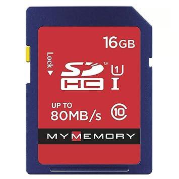 MyMemory - Tarjeta de Memoria SD (16 GB, U1, UHS-I, FAT32 ...