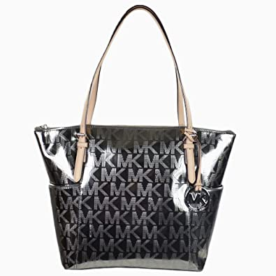 3397f3705 ... Michael Kors Jet Set Item EastWest Top Zip Tote Nickel ...