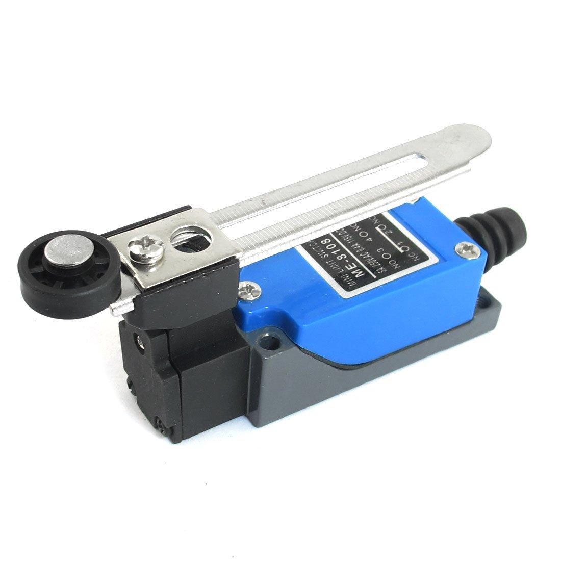 uxcell/® Adjustable Roller Lever Enclosed Limit Switch AC 250V DC 115V
