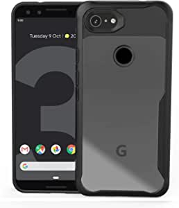 Lxlfcase for Google Pixel 3a Case, Ultra-Thin Hybrid Designed for Google Pixel 3a (2019) Phone Cases, Full Protection Cover for Google 3A (Black)