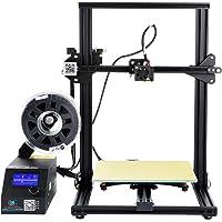 Comgrow Original Creality Impresora 3D CR-10S Tamaño de impresión de 300 * 300 * 400 mm, Detector de filamentos, Reanudar, Tornillo de avance del eje Z doble, Kit de montaje rápido