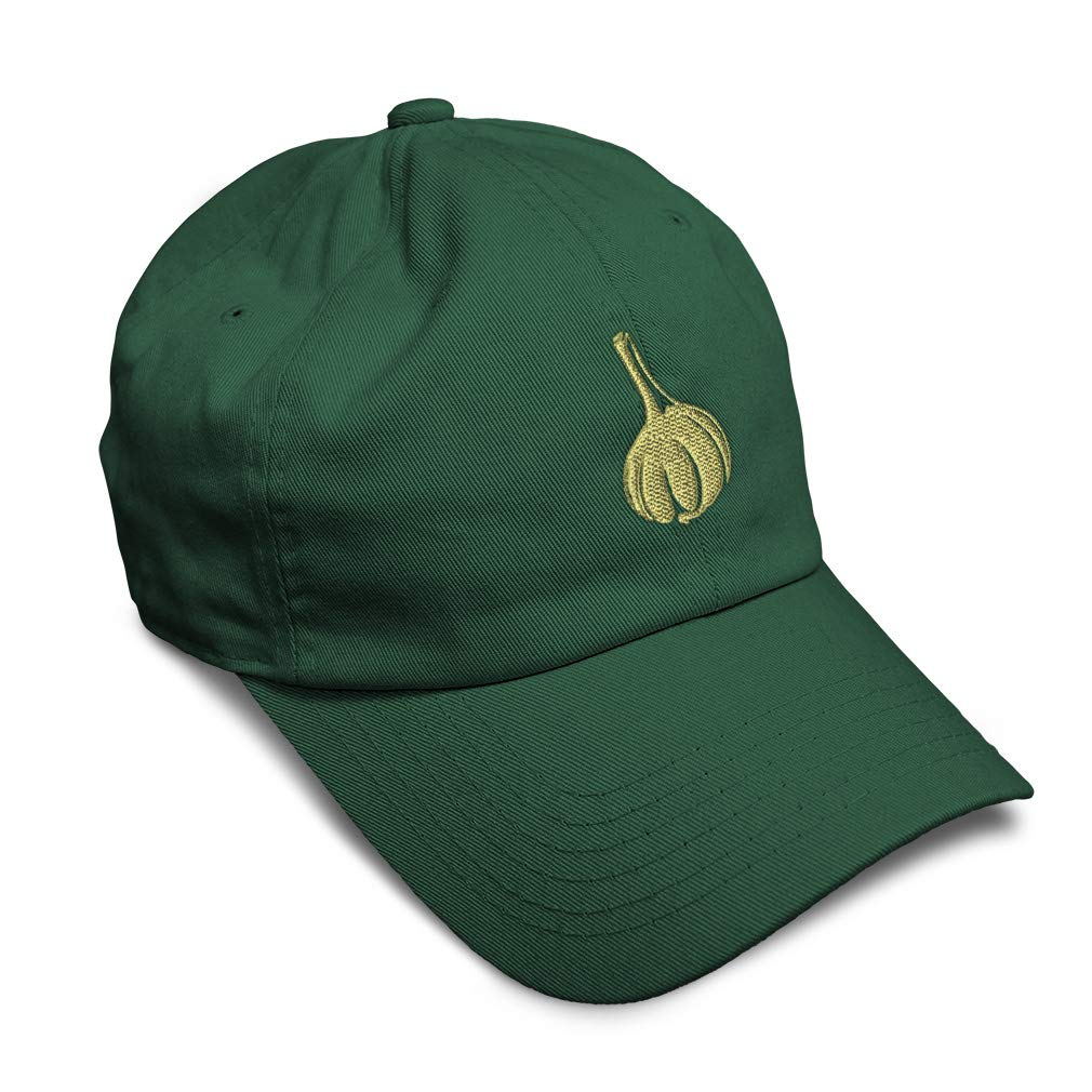 Custom Soft Baseball Cap Garlic Cloves Style B Embroidery Twill Cotton