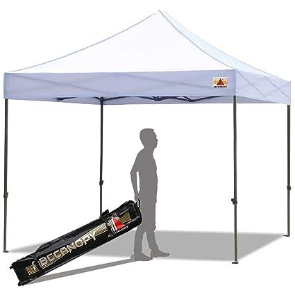 225 & ABCCANOPY 8u0027x 8u0027 Ez Pop-up Canopy Tent Commercial Instant Tent with 4 Removable SideWalls and Roller BagBonus 4 SandBags