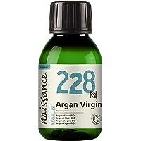Naissance Organic Moroccan Argan Oil (nr. 228) 100ml - Puur en natuurlijk, anti-aging, antioxidant, veganistisch…