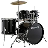 Ludwig Accent Drive Series LC175 Complete Drum Package with Cymbals, Hardware, Drum Throne, Chain-drive Pedal and Sticks…