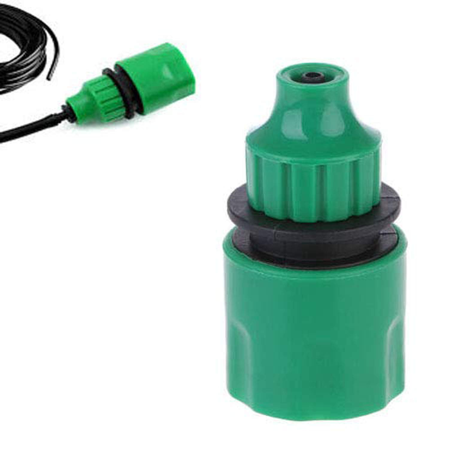 Diy Crafts Garden Hose Pipe One Way Adapter Tap Connector Fitting For Irrigation System Pipe Fitting Tap Adaptor Connector 4 7 8 11 Pipe Water Hose Garden Pack Of 1 Pc Design No