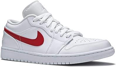 Amazon.com   Nike Air Jordan 1 Low Women's University Red AO9944 ...