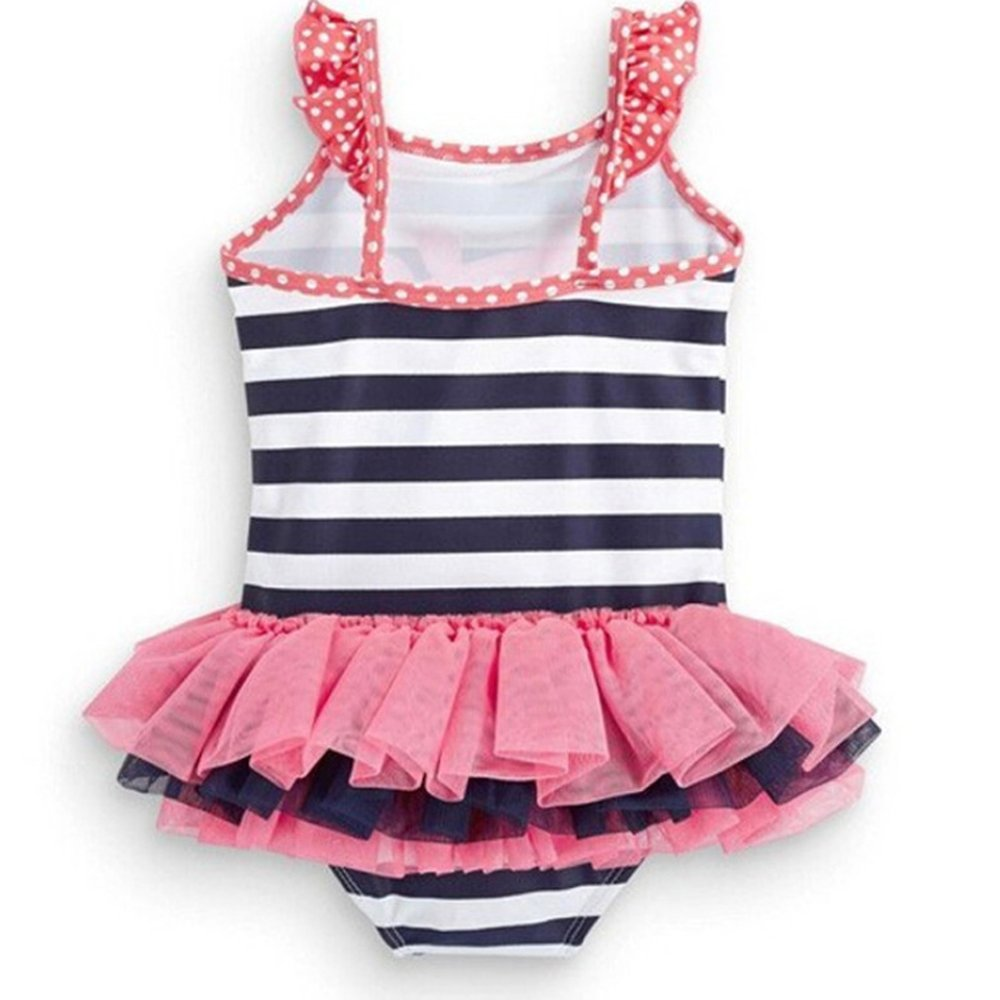 2950a154b8de7 Amazon.com  Meteora Girls Summer Peppa Pig One-Piece Bikini Swimsuit Baby Bathing  Suit 2-6T (4-5T)  Clothing