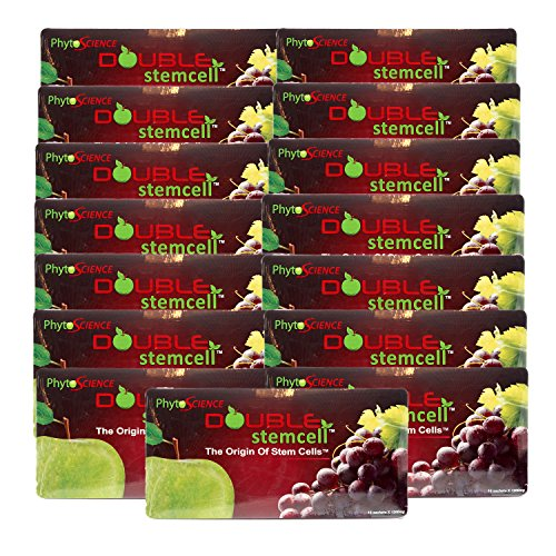 15 Packs of Phytoscience Apple Grape Double StemCell (210 Sachets) Origin Stem cell Swiss Quality Formula by Phytoscience