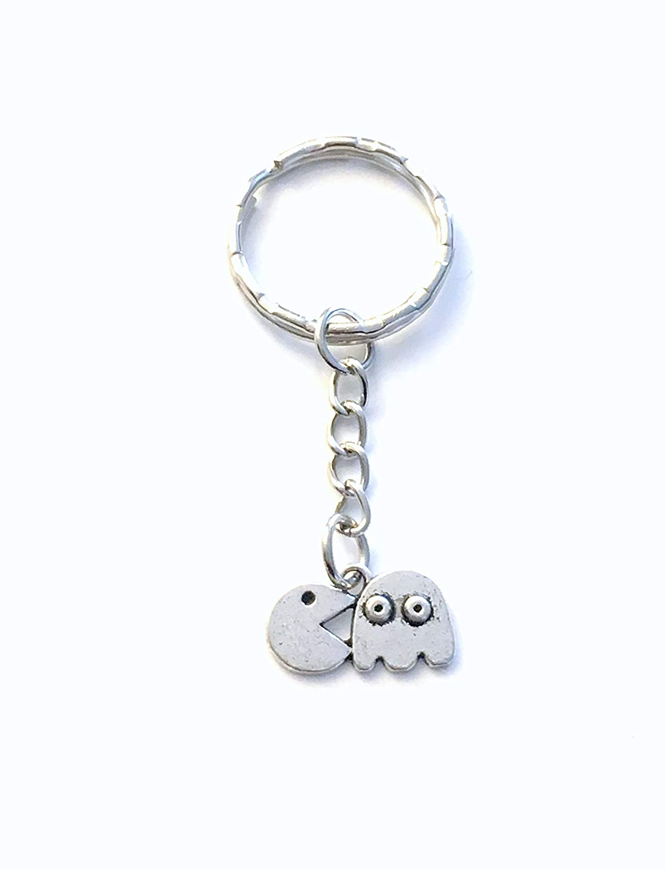 Gift for Teenage Boy Keychain, Arcade Game Present for Teen Girl Key Chain, Unisex Gamer