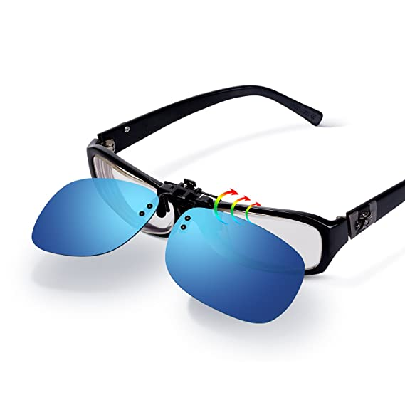 Besoods - Gafas de sol polarizadas de plástico para conducción al aire libre, pesca, ciclismo - Azul - Large: Amazon.es: Ropa y accesorios