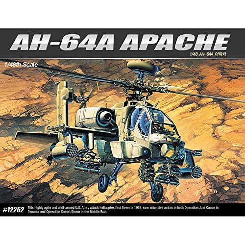 Academy 12262 AH-64A Apache 1/48 Scale Model Kit for sale  Delivered anywhere in USA
