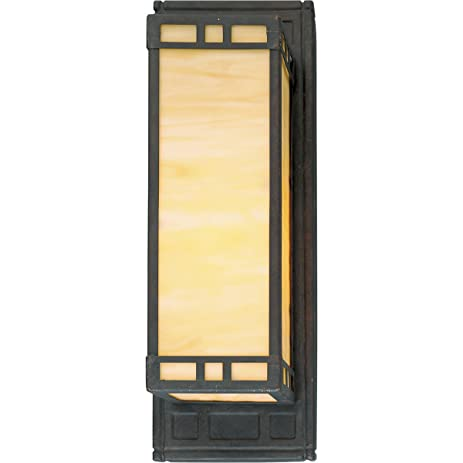 Progress Lighting P3002-46 Arts and Craft 1-Light Wall Sconce with ...