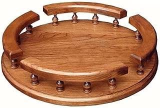 "product image for Amish Hardwood Revolving Lazy Susan (12"", Cherry)"