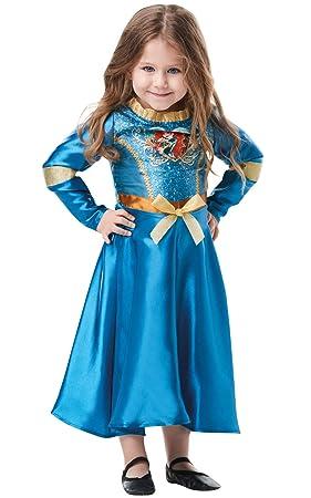 Rubies - Disfraz de princesa Disney con lentejuelas, talla para ...
