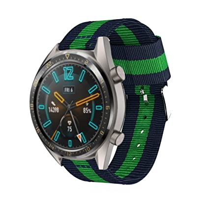 Amazon.com: Sodoop Bands for Huawei Watch GT 22mm, Woven ...
