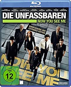 Die Unfassbaren - Now You See Me (Extended Edition) [Blu-ray] [Alemania]