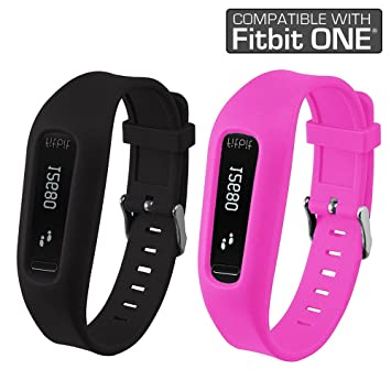 4330ed173377c Fitbit One Buckle Bracelet - Adjustable Wristband and Wristwatch Style -  Fitbit One Silicone Replacement Secure