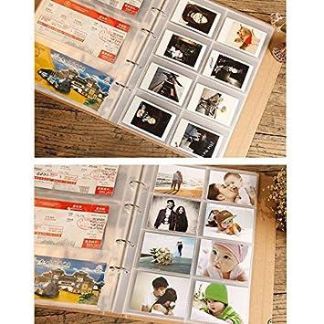 Film Da Jia Inc 120 Pocket Ticket Stub Album Sport Blank Konzert Tickets Stub Organizer Banknoten W/ährungssammlung Album Bargeldhalter Memories Album