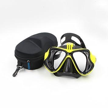 TELESIN Buceo Máscara de buceo Soporte de buceo Compatible con GoPro Hero3, 3+ y
